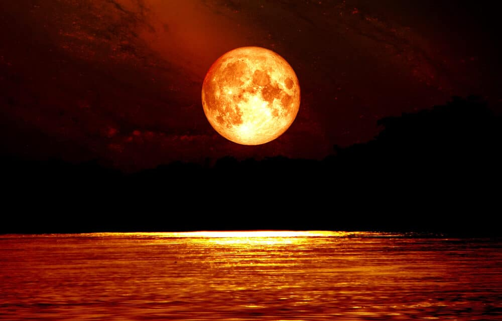 "Rabbi warns ""Super Blood Moon"" over America is a sign of War"