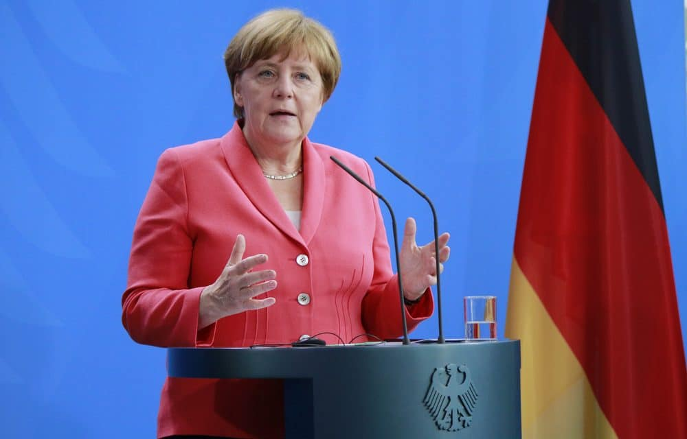 WAR DRUMS: Merkel warns Putin to pull back troops from border of Ukraine, Russia vows to defend itself