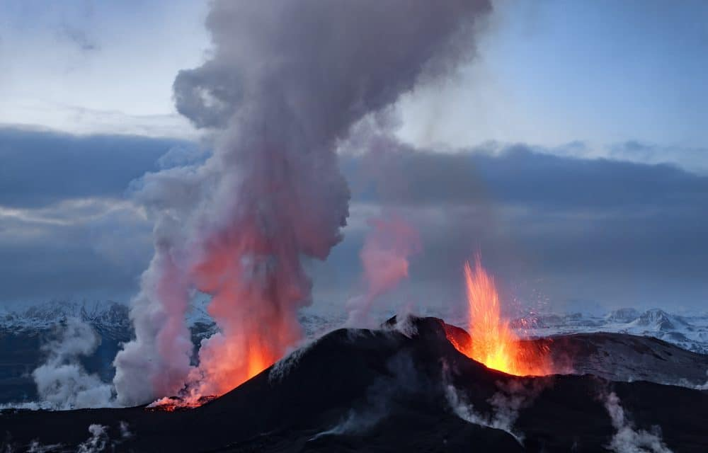 Iceland volcano unleashes third lava stream in ongoing three week eruption