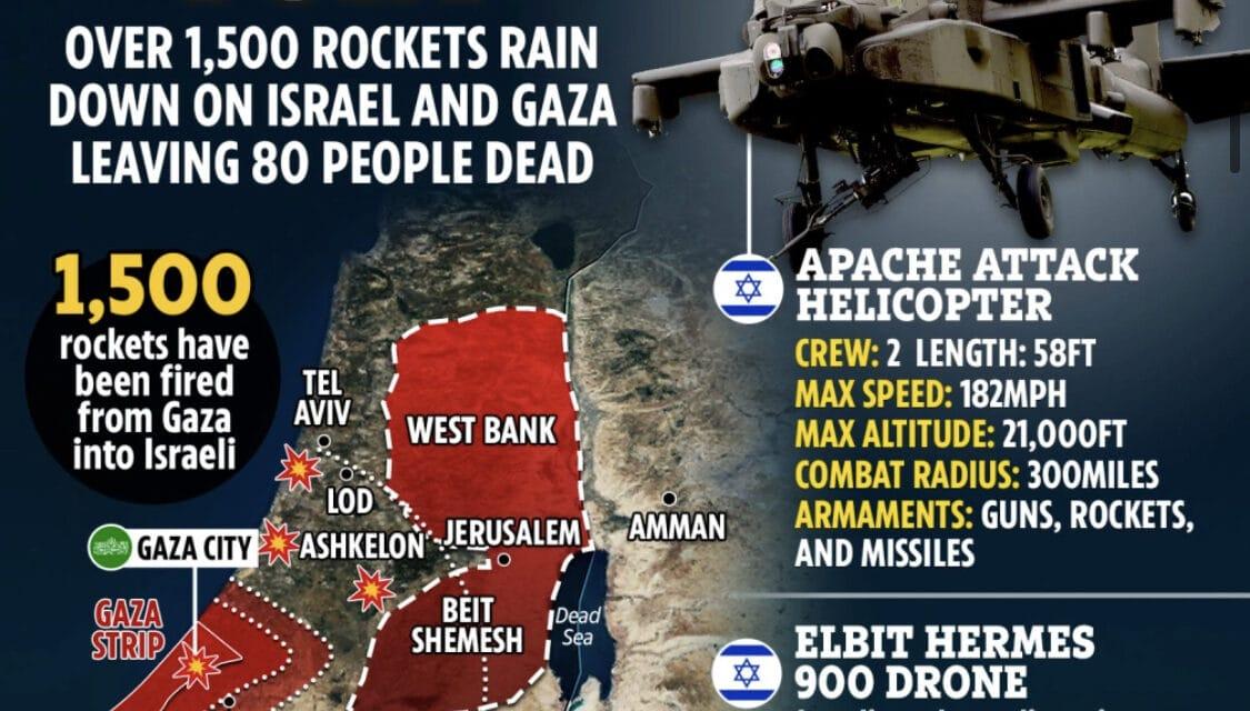 Israel deploying mass of troops and tanks to Gaza, Netanyahu gives Hamas final warning