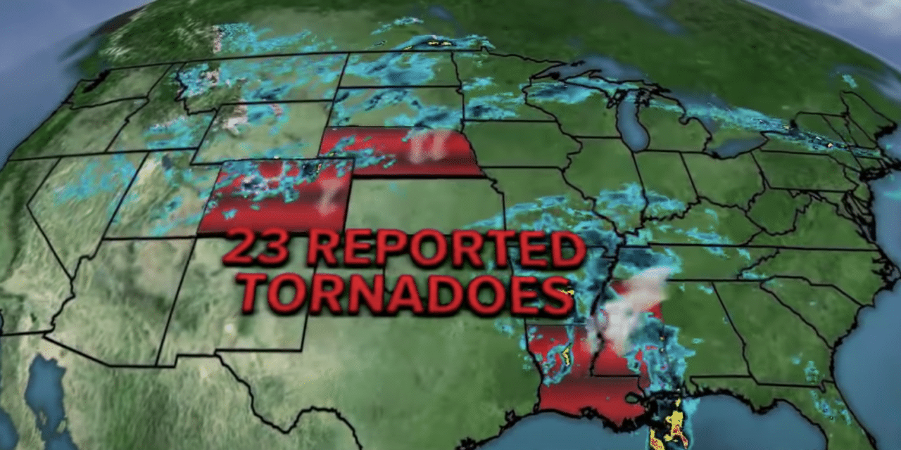 Tornado emergency issued after twisters strike Southwest of Atlanta and Mississippi Cities