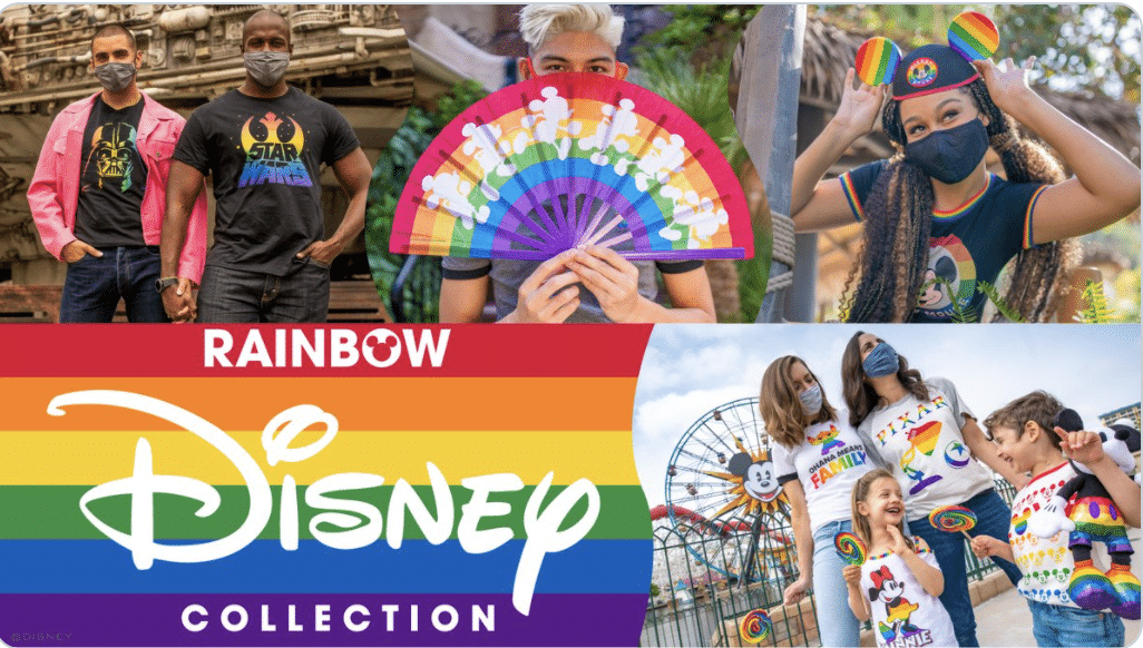 """Disney reveals LGBT rainbow-colored toys and clothes for upcoming """"Pride Month"""""""