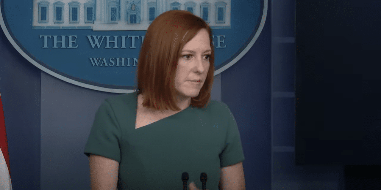 WH Press Secretary calls Texas abortion law an 'assault' on women's rights