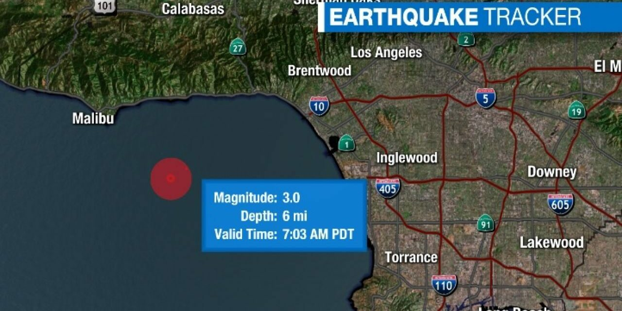DEVELOPING: Swarm of earthquakes rattle Disneyland in California