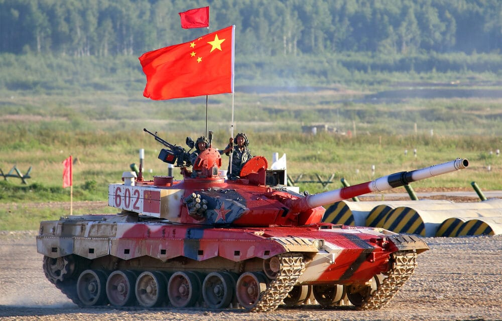 RED ALERT: Chinese Military to Overtake US by End of Biden's Term…