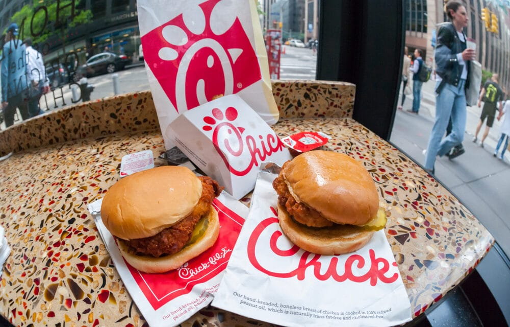 Even Chick-fil-A is now experiencing shortages