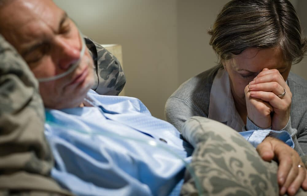 Hospice workers share accounts of patients reaching for deceased loved-ones as they die