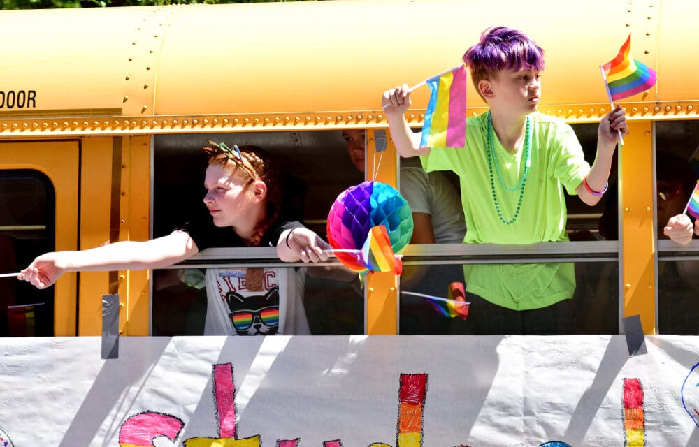 LGBT content for children is exploding in popularity across the Country