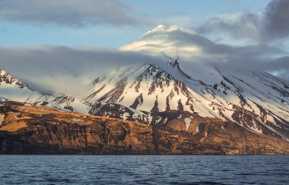 Alaska's Great Sitkin volcano unleashes major eruption, sending ash cloud 15,000 feet into the air