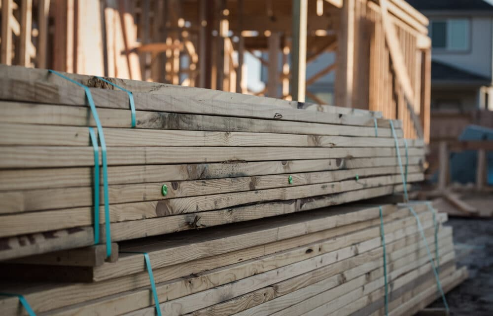 Lumber prices have just broke another new record producing major price hikes on home prices