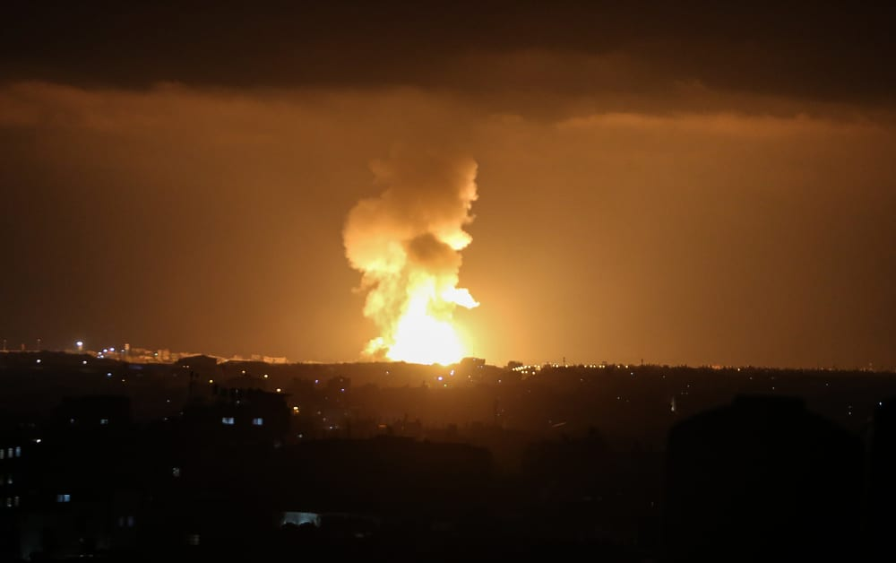 Hamas 'suicide submarine' destroyed by Israeli airstrike