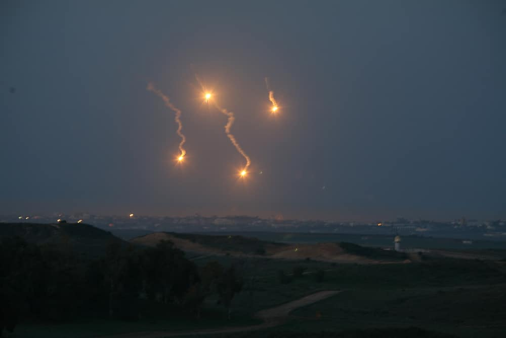 WAR DRUMS: 160 Rockets fired at Israel, IDF strikes back, Bomb shelters opened, Resistance ready, ticking time bomb ready to explode