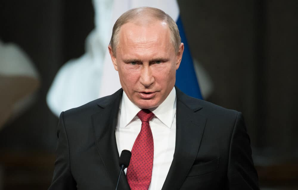 Putin warns would-be aggressors: 'Will knock your teeth out'…