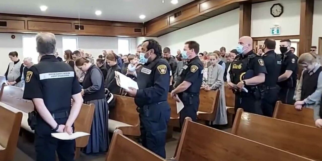 UPDATE: Church in Canada hit with over $200k in fines following police locking down building