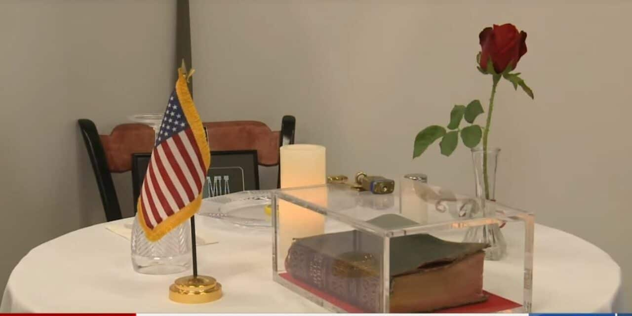 Atheists Demand Removal of 'Symbol of Christian Supremacy' From POW/MIA Table Display