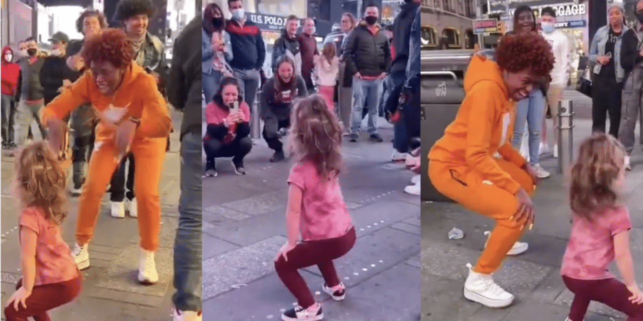Outrage erupts over viral video of young child twerking while crowd applauds on NYC street