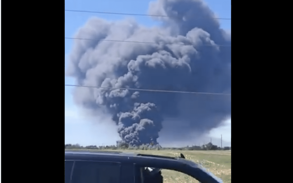 DEVELOPING: A massive chemical fire in Illinois has prompted evacuations…