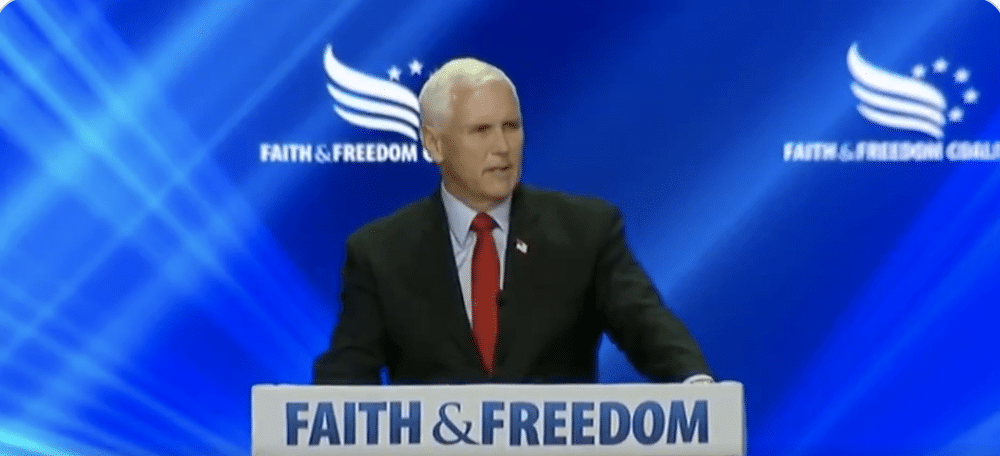 Pence Heckled With Boos and Cries of 'Traitor' at Evangelical Conference…
