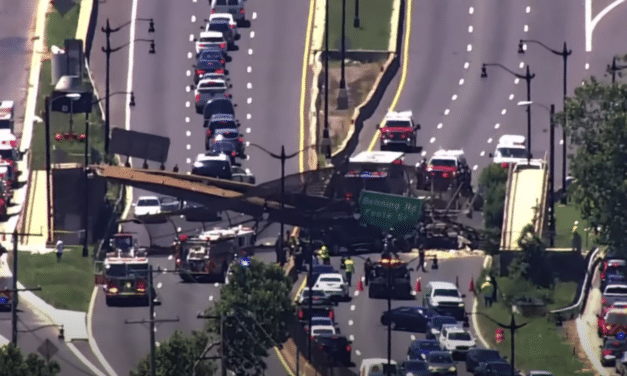 5 injured after pedestrian bridge collapses on DC highway…