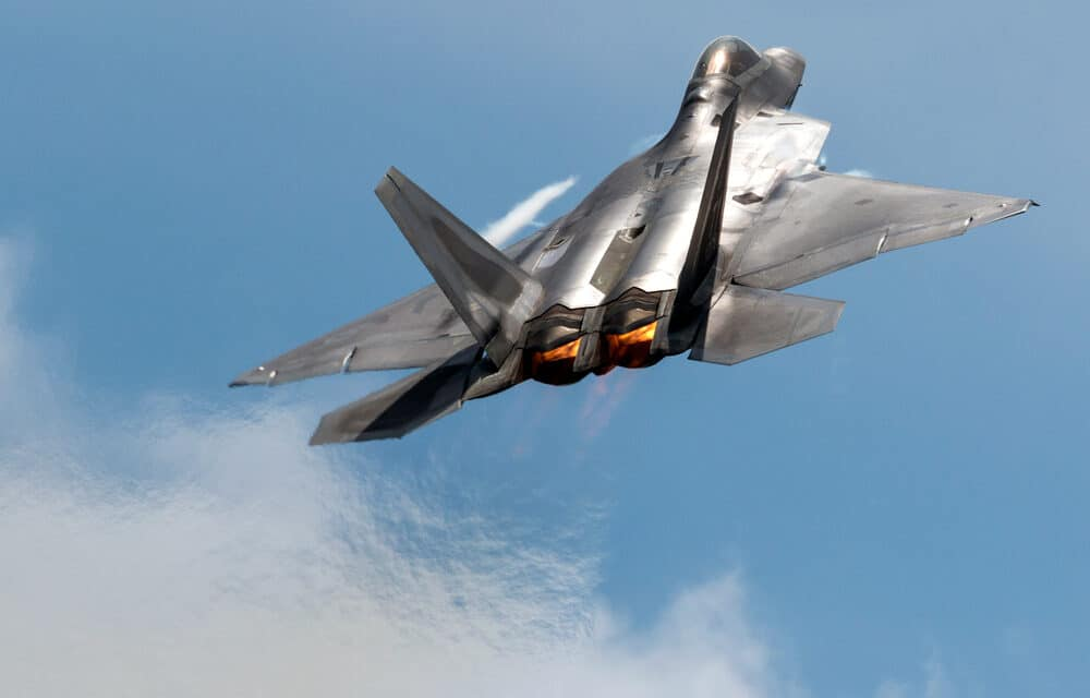 UPDATE: Hawaii military base mysteriously launched three F-22s in response to unknown incident