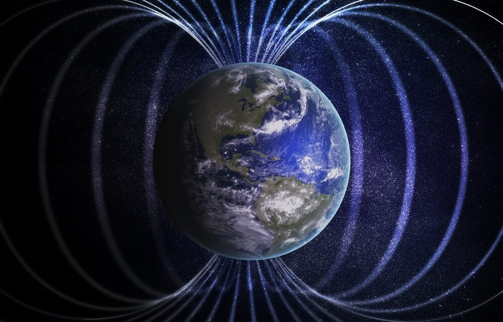 Earth's solid-iron inner core is growing faster on one side than the other altering magnetic field