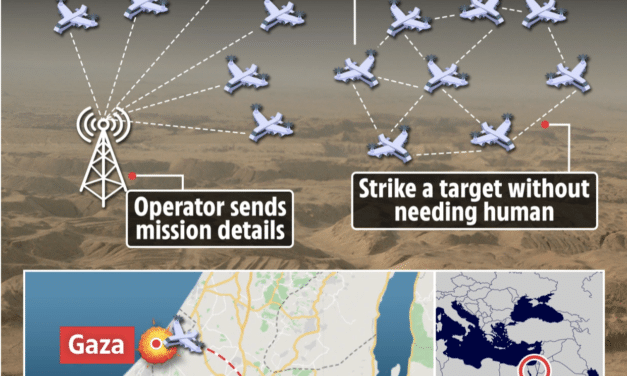 Israel launches first-ever AI drone swarm to hunt down and eliminate Hamas terrorists