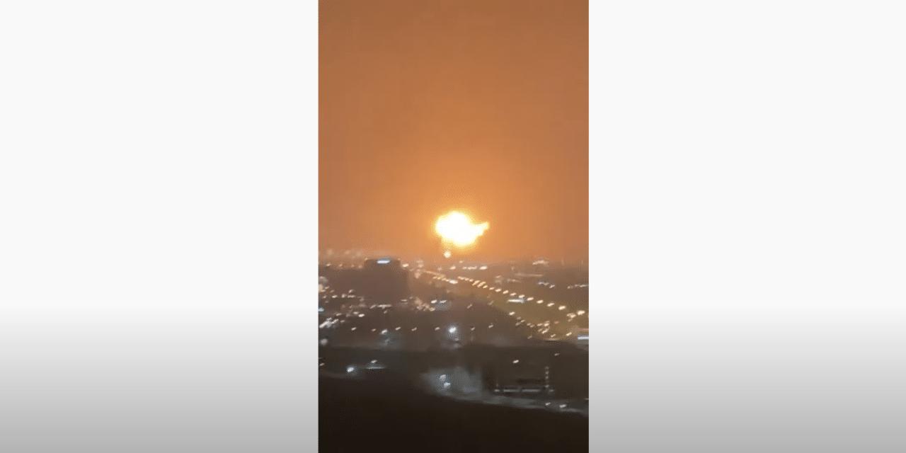 DEVELOPING: Huge explosion inside ship dock rocks Dubai port
