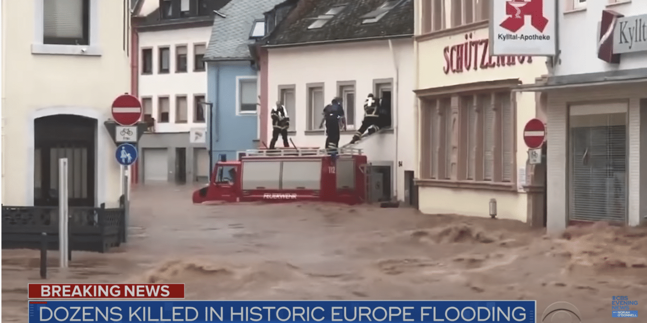 Worst flooding in 200 years kills more than 120 across Europe
