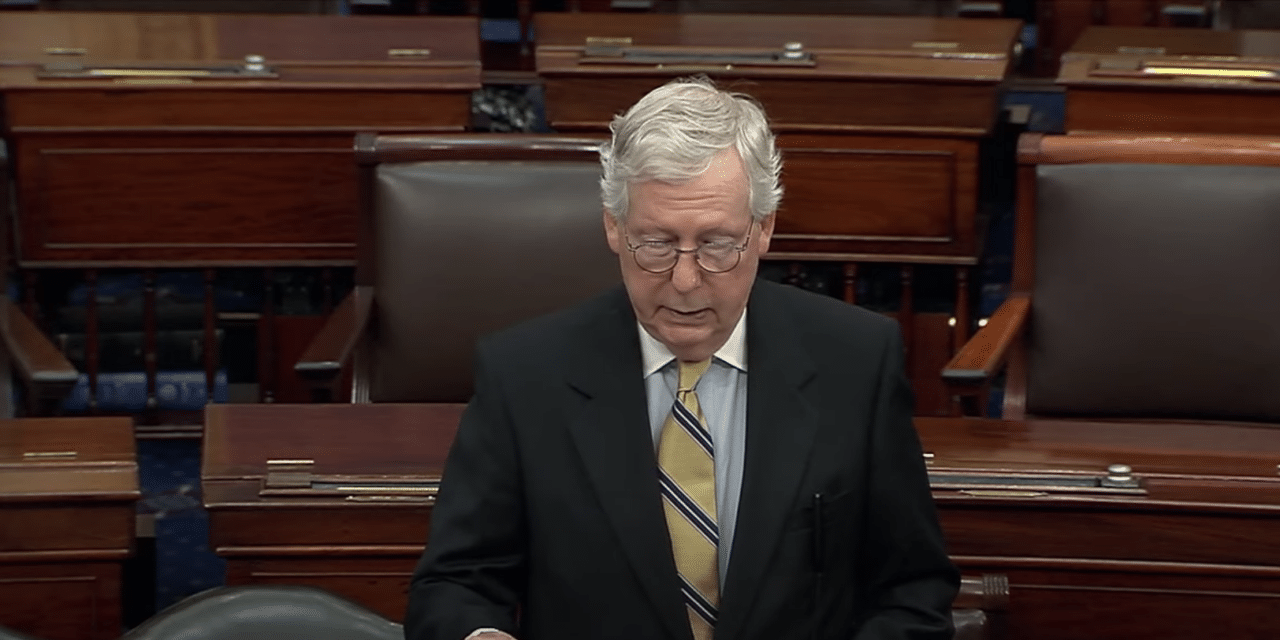 Mitch McConnell urges Americans to 'Get vaccinated' against COVID or risk shutdowns again
