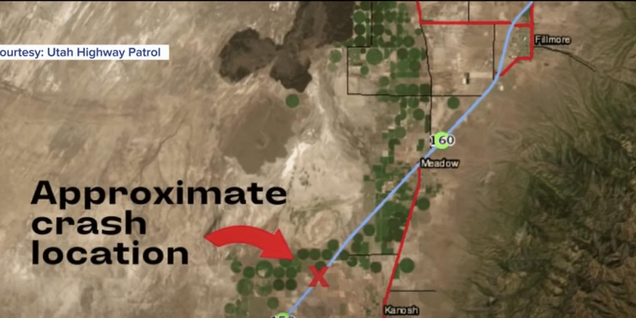 Deadly sandstorm kills 8 in 22 car pileup on Interstate 15 in Utah