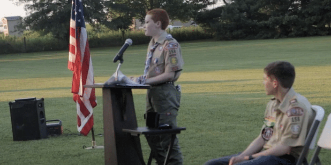 Virginia teen is recognized as the first 'nonbinary' Eagle Scout