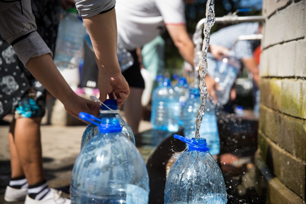 Dozens of communities run risk of running out of water as the drought continues in California