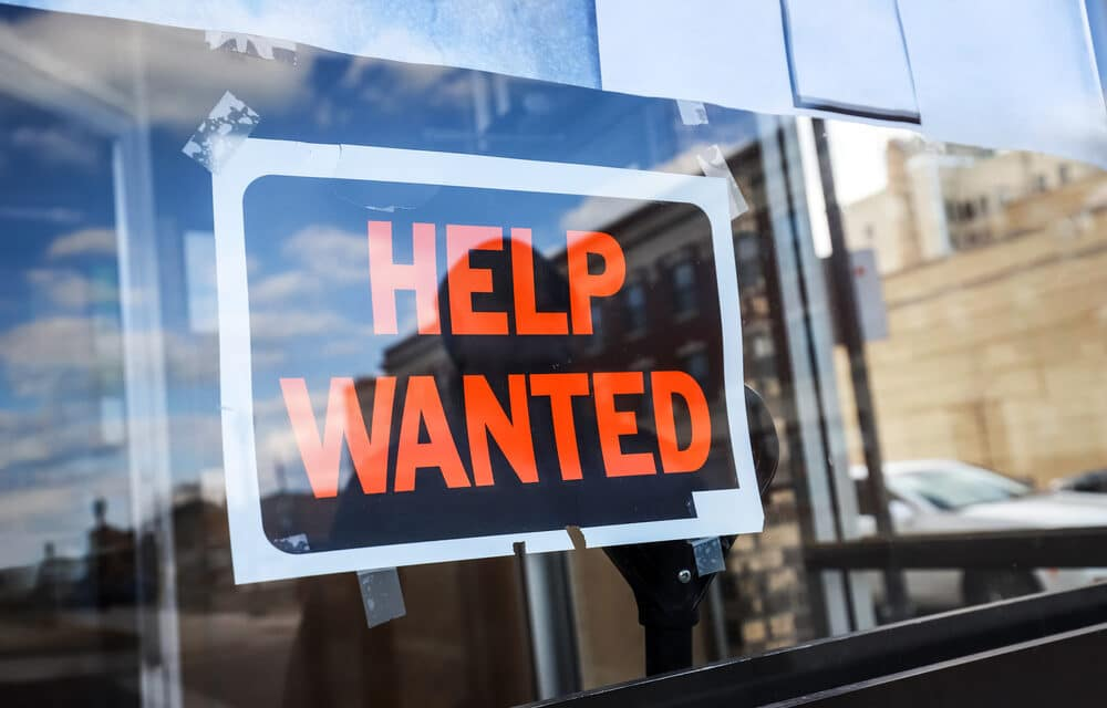 Record number of jobs available but no one is coming back to work!