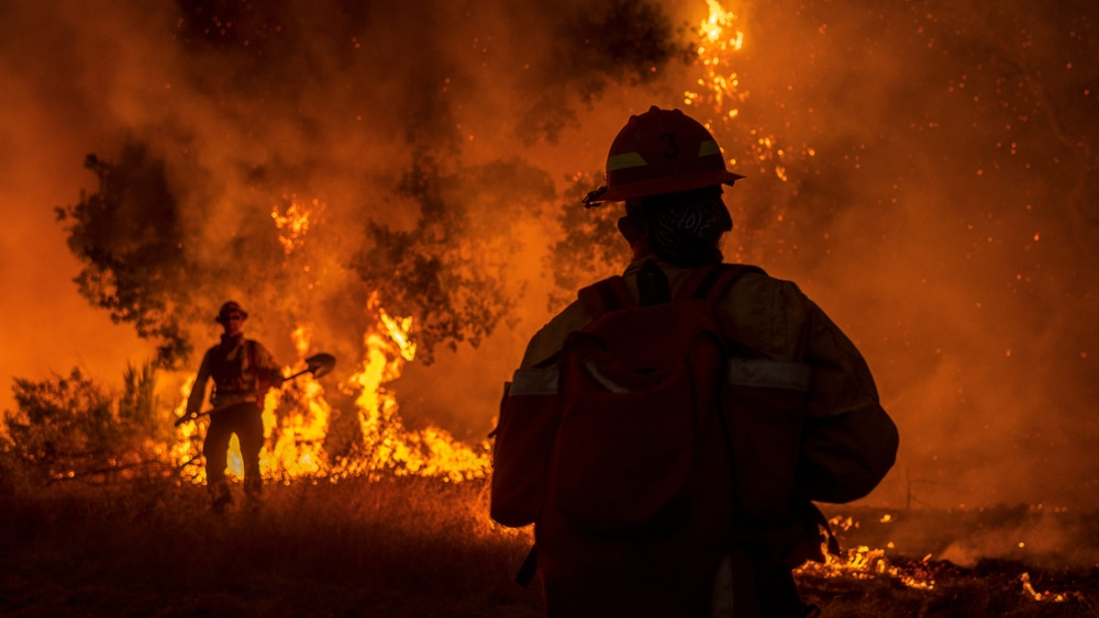 DEVELOPING: Wildfires have scorched 900,000 acres across more than a dozen Western states