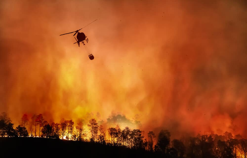 Western US is getting pummeled with deadly wildfires, flash flooding, sandstorms, drought and water shortages