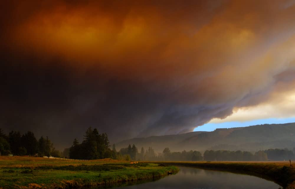 Massive wildfire ravaging Oregon is now the size of Los Angeles and is creating its own weather