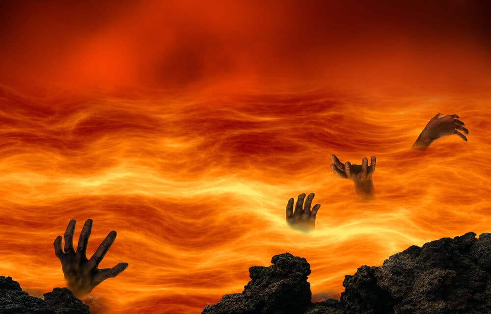A Man claimed he died for 23 minutes and was 'Pulled into hell', where he saw a 'pit of burning bodies'