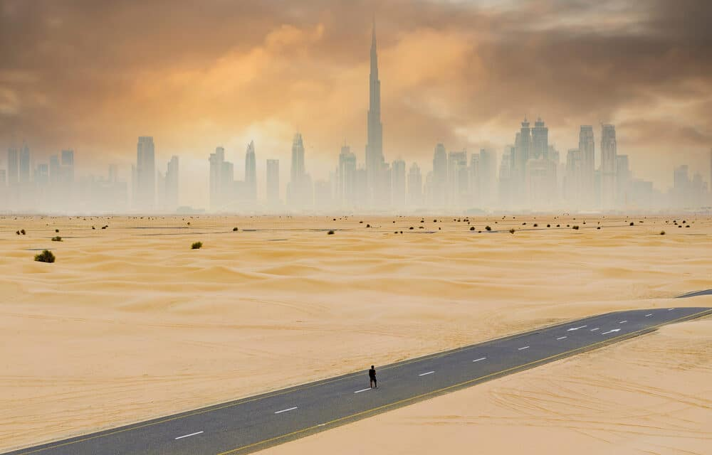 It's so hot in Dubai that the government is artificially creating rainstorms