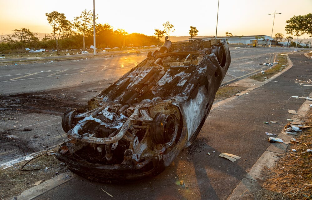 Violence in South Africa continues to spiral out of control producing food and fuel shortages