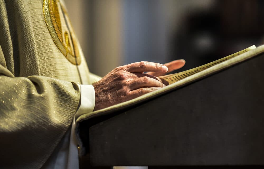 Top U.S. Catholic Church official resigns over report linking him to gay bars and Grindr