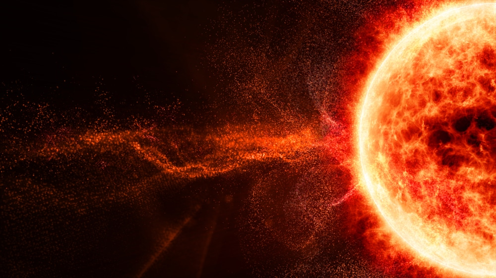 The sun just released the largest solar flare in 4 years
