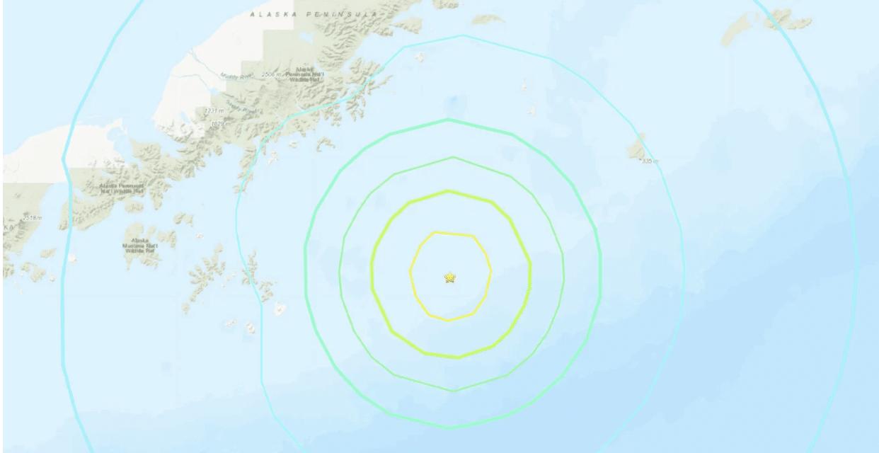 Back-to-Back 7.0 earthquakes strike Alaska Peninsula and Haiti