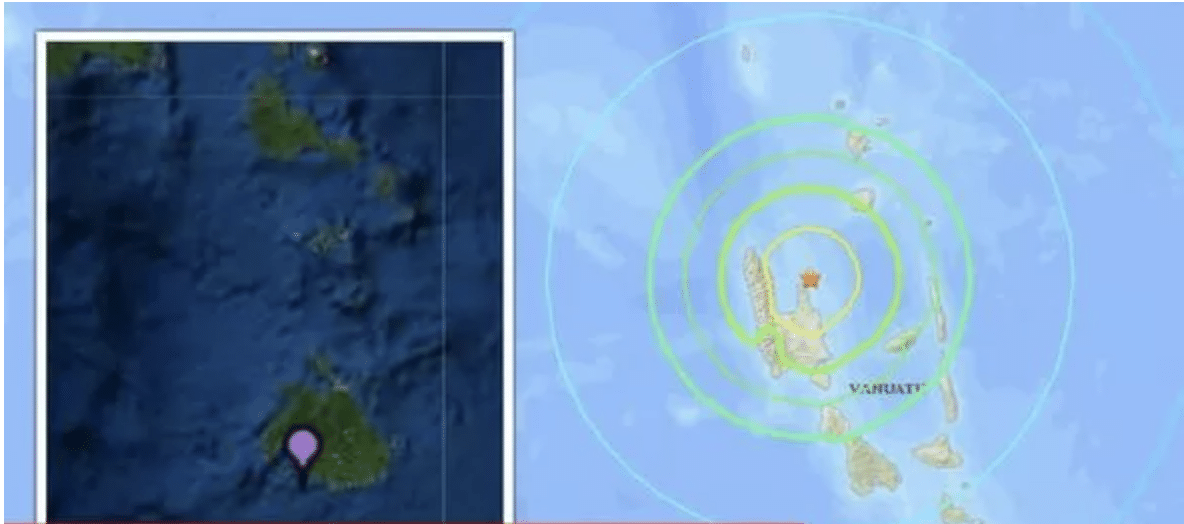 Vanuatu struck by 6.8 magnitude earthquake sparking brief tsunami warning