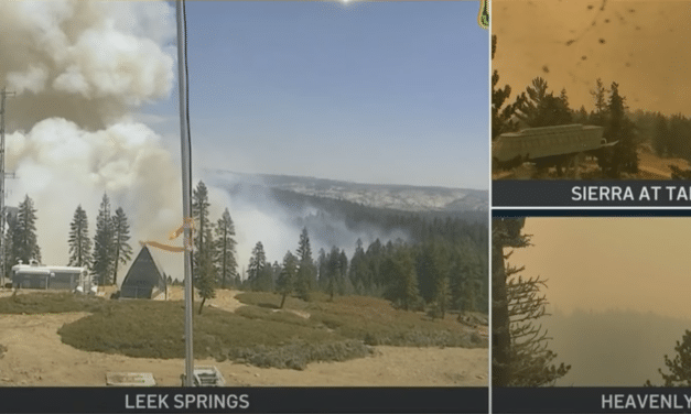 DEVELOPING: Lake Tahoe threatened by massive fire as more residents ordered to flee…
