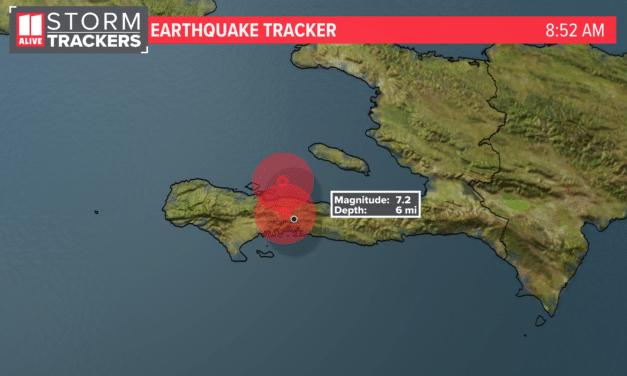 UPDATE: Haiti 7.2 earthquake death toll rises to over 1000
