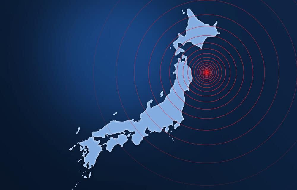 Magnitude 6.0 earthquake strikes off Tokyo coast sparking panic at Olympics