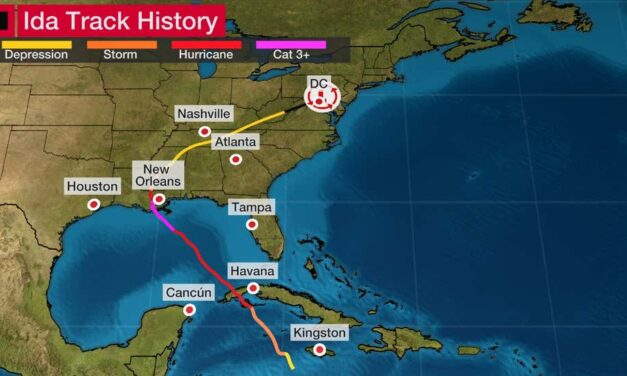 DEVELOPING: Remnants of Ida bringing life-threatening flooding rain and tornado threats into Mid-Atlantic and Northeast