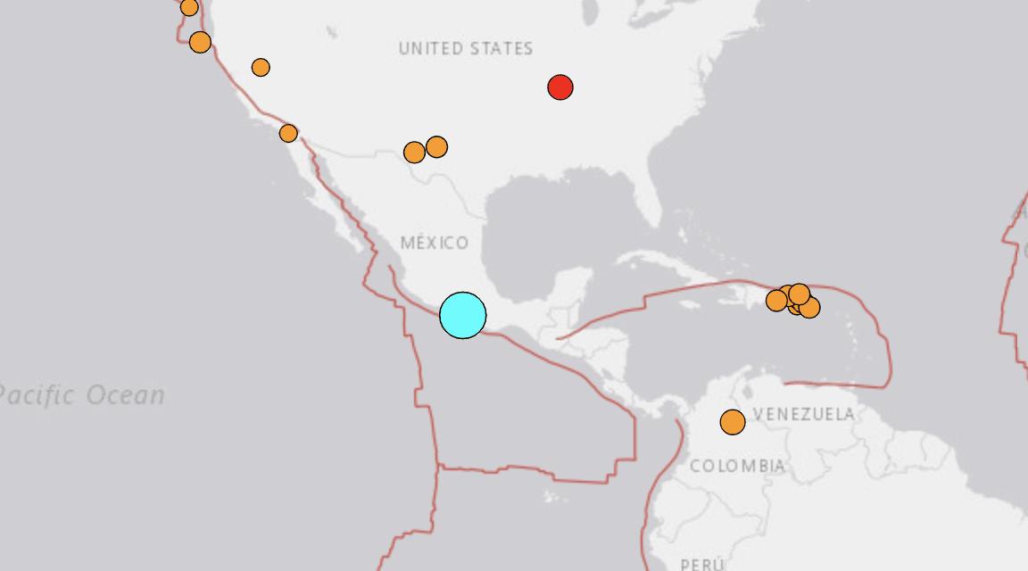 A powerful magnitude 7.4 earthquake has struck Mexico