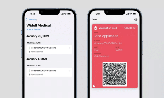 New IOS update will allow digital COVID-19 vaccination card on Apple Phones