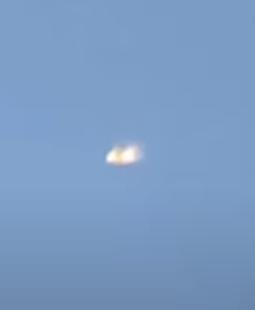 """TIC-TAC"" shaped UFO seen shapeshifting near a US Space Force base"
